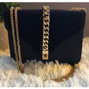 Topshop gold chain bag 💫